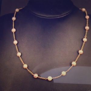 Wendy Camras pearl necklace